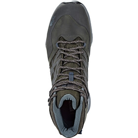 The North Face Hedgehog Hike Mid GTX Shoes Herren Beluga Grey/Dark Slate Blue
